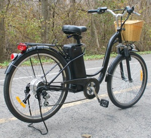 black watseka electric bike