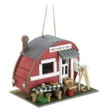 country trailer bird house